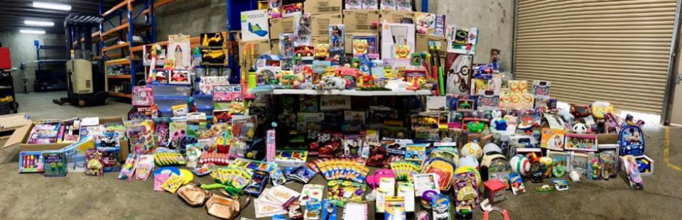 Our Toy Drive for the children of drought stricken farmers